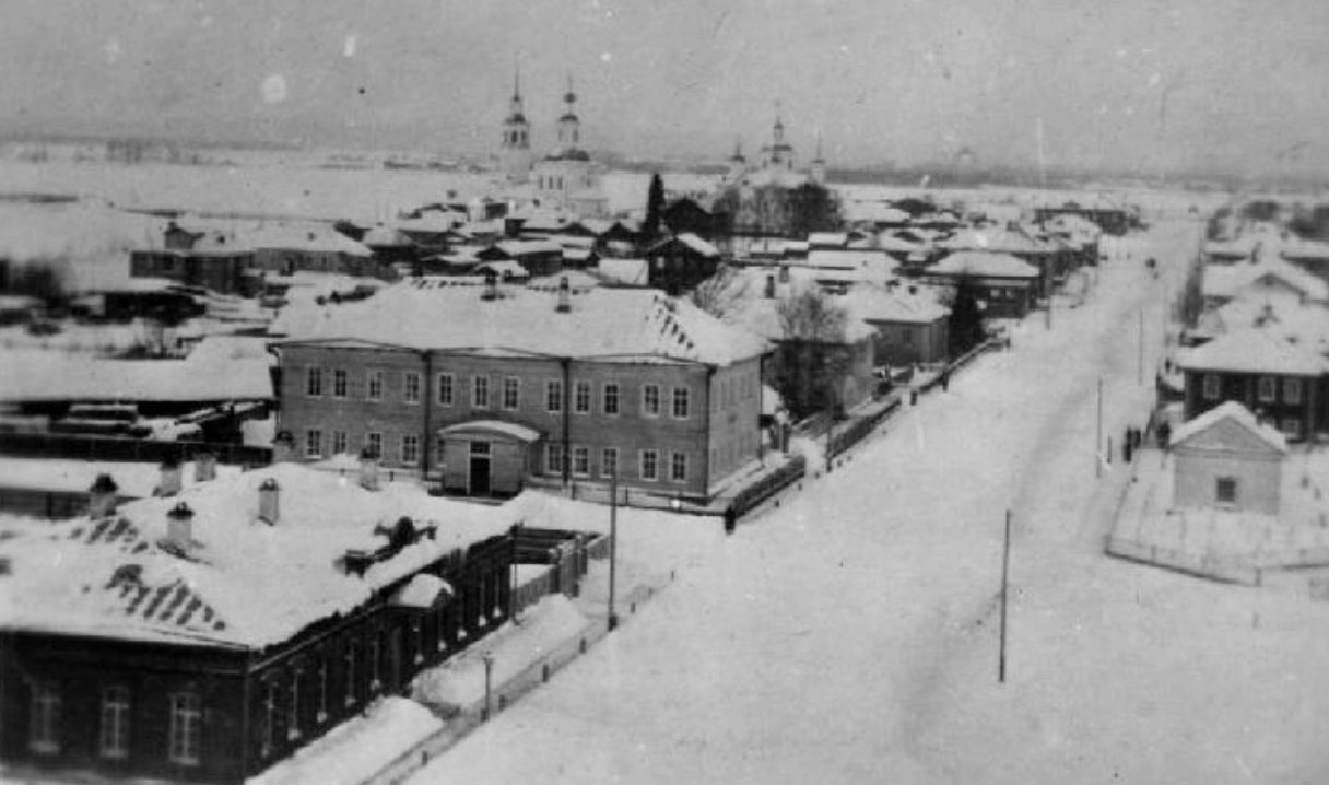 town of Yarensk, early XX century